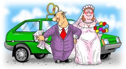 Поздравление со свадьбой юморное